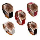 Hot Fashion Women Ladies Girls Crystal Eiffel Tower Leather Quartz Wrist Watch