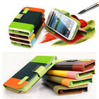 Envelope Card Wallet Purse Card Coin Case Cover Bag For Samsung Galaxy S3 I9300