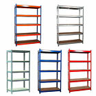 Workshop Garage Warehouse Shed Storage Shelf Racking Unit Plastic/Metal 4/5 Tier