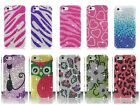 For Apple iPhone 5C Mini LITE Cover Bling Full Diamond Rhinestone Hard Case
