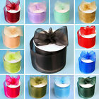 "2 3/4""x 25 yrd Mono Edge Organza RIBBON Wedding FAVORS Crafts Invitations Sewing"