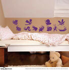 Cute Animal Parade Butterfly Ladybug Bee Caterpillar / Wall Vinyl Decal Sticker
