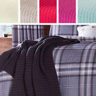 Catherine Lansfield Chunky Knit Knitted Soft Cosy 125x150cm Blanket Wrap Throw