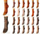 VARIOUS COLOURS PRINTED LADIES CLASSIC SOCKS LYCRA 40 DEN WOMENS PANTYHOSE