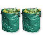 270L Large Garden Waste Bag Strong Rubbish Sack Waterproof Heavy Duty Reusable