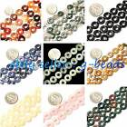 "10mm  cute rings gemstone loose beads strand 15""jewelery making beads"