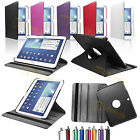 360°Rotating Leather Cover Stand For Samsung Galaxy Tab 3 10.1 P5200 P5220 P5210