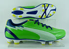 Puma evoSpeed 4 FG adults football boots - Green/Navy