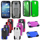 Trifecta Hard Cover Slim Silicone Case For Samsung Galaxy S4 4 IV I9500