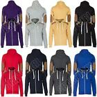 New Mens Teens Patched Quilted Sweatshirt Hoodie Hoody Jacket Size S M L XL XXL