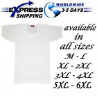 %100 Egyptian Cotton Top Tank Men Underwear Undershirt Vest T-Shirt half Sleeve