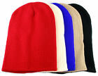 Mens Boys Slouch Slouchy Beanie Hat Bright Floppy Oversized winter ski