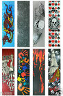"Graphic Skateboard Grip Tape  9"" x 33"" Multiple Graphics to Choose image"