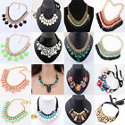 HOT! Womens Vintage Bib Statement Necklace Jewelry Ladies Chunky Collar Party