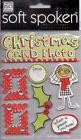 MAMBI Soft Spoken CHRISTMAS themed dimensional stickers~Awesome!!~Fast ship!