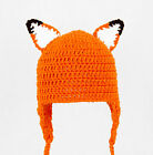Fox Ears Earflap Hat, What Does the Fox Say? Laplander Beanie baby - adult