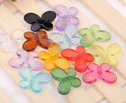 100/50pcs mixed acrylic Interval beads lovely Butterfly Beads finding u pick