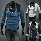 Assassin's Creed Desmond Miles Kenway Cosplay Hoodie Costume Coat Jacket T003