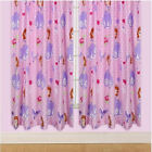 Sofia The First Amulet Pink Purple Girls Polka Dot Bedroom Ready Made Curtains
