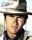 CLINT EASTWOOD (RAWHIDE) SIGNED PHOTO PRINT 06