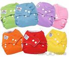 New Adjustable Reusable Washable Solf Baby Cloth Nappies Nappy Diapers + insert