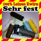 Linen Thread 1x Roll = 50m / 100% Linen Thread For Sewing / Very Robust