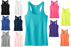 JUNIOR, JR. LADIES, RACERBACK TANK TOP, LAYERABLE, COTTON/POLY XS-XL 2XL 3XL 4XL