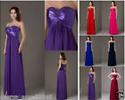 New Long Chiffon Women's Dresses Bridesmaid Evening Party Formal Prom Dress Gown