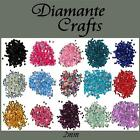 300 2mm Diamante Loose Flat Back Rhinestone Nail Body Gem Choose from 18 Colours