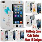New Cute 2 piece Full body durable Case cover bumper for Apple iPhone 5 / 5S