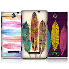 HEAD CASE DESIGNS AZTEC FEATHERS CASE COVER FOR SONY XPERIA E DUAL C1605 C1505
