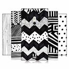 HEAD CASE DESIGNS BLACK AND WHITE DOODLE PATTERNS CASE COVER FOR NOKIA LUMIA 800