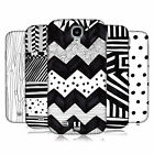 HEAD CASE DESIGNS BLACK AND WHITE DOODLE PATTERNS CASE FOR GALAXY S4 I9500