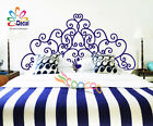 Wall Deco Decal Sticker Removable Headboard DC053 Full Size Queen Size Twin Size