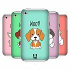 HEAD CASE DESIGNS HAPPY PUPPIES CASE COVER FOR APPLE iPHONE 3G 3GS