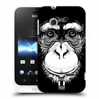 HEAD CASE DESIGNS BIG FACE ILLUSTRATED CASE COVER FOR SONY XPERIA TIPO ST21i