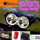 2nd Generation SolarStorm X2 Cree LED Bike Bicycle Light Headlight Cycling Set