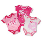 Infant Philadelphia Phillies Creeper 3-Piece Set Pink Bases Loaded Baby Baseball