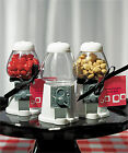 15 RED or WHITE Empty Classic Gumball Machine Birthday Favor Box Container