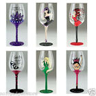 Boxer Gifts Chic Wine Glasses, New Design - 5 Styles - Stylish Dining Glassware