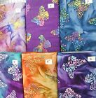 MORE BATIK BUTTERFLIES Monarch Sarasota 100% cotton Fabric Traditions 1 yd