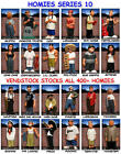 BRAND NEW RETIRED HOMIES SERIES 10 FIGURES -YOU PICK ONE   -   VENDSTOCK