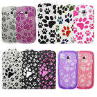 NEW CUTE KITTEN & PUPPY PAW PRINT CASES, COVERS, SKINS For Various Phones