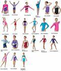 Gymnastic Leotards Lycra Long and Sleeveless High Shine Glitter