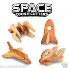 Suck UK 3D Cookie Space Cutters - 4 to Collect - Baking Pastry Accessory