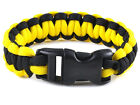 Tactical 550 Paracord Parachute Cord Military Survival Bracelet camping Hiking