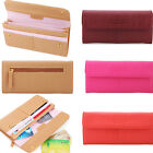 Fashion Credit Card Long Lady Purse Women Clutch Wallet Faux Leather Gift Bag