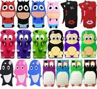 Animal 3D Silicone Cover Gel Case For Apple iPhone 5 5S
