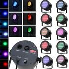 10PCS 86 RGB LED STAGE LIGHT PAR DMX-512 LIGHTING LASER PROJECTOR XMAS DJ LIGHT