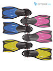 Typhoon T-Jet Adult Snorkeling Adjustable Flippers Fins Scuba Swimming Diving